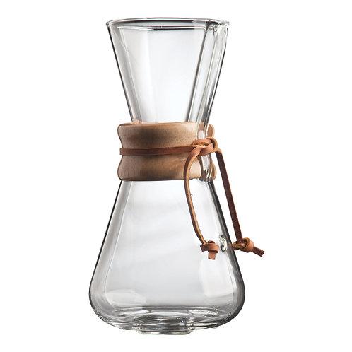 Chemex Kaffebryggare - 3-8 koppar