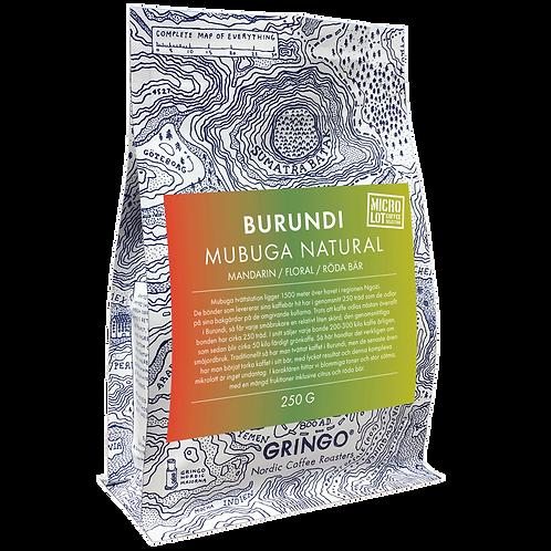 Burundi Mubuga Natural - Micro Lot