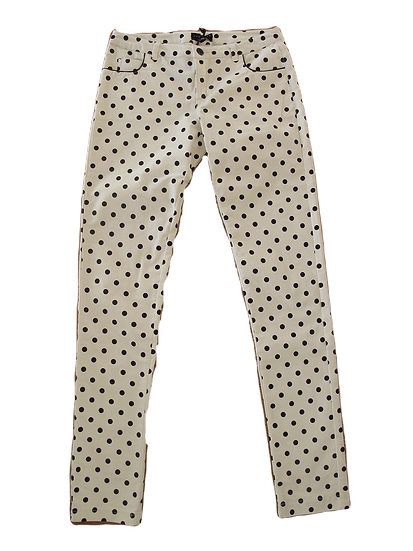PANTALONE IN VELLUTO LISCIO TWIN SET