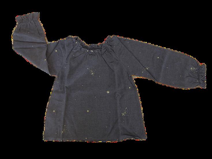 T-SHIRT IN VISCOSA OLIVE