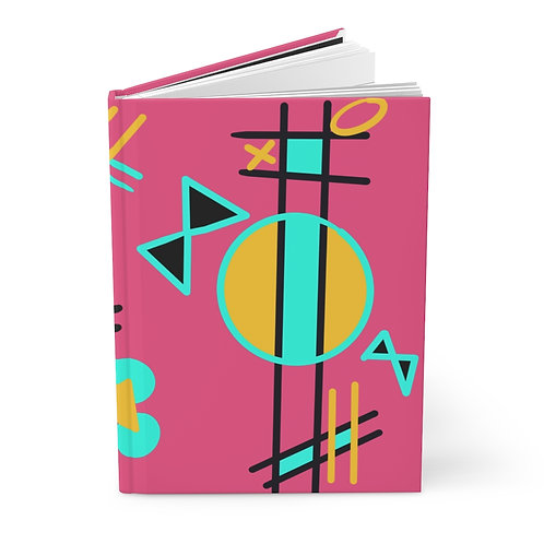Hardcover Journal Matte 1980s Theme Bows