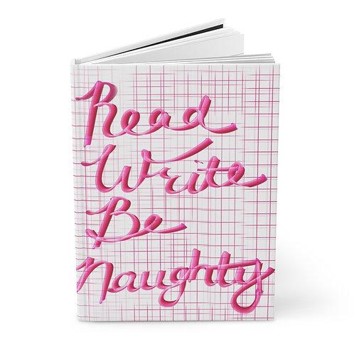 Hardcover Naughty Journal Matte