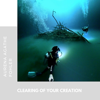 9 - Clearing of your creation