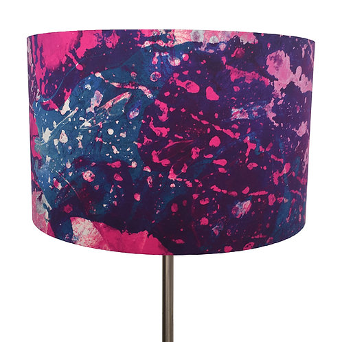 Astral Projections Marbling Lampshade