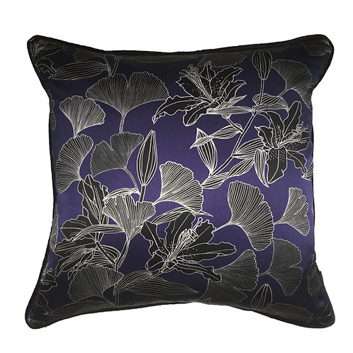 Lily and Ginkgo Cushion