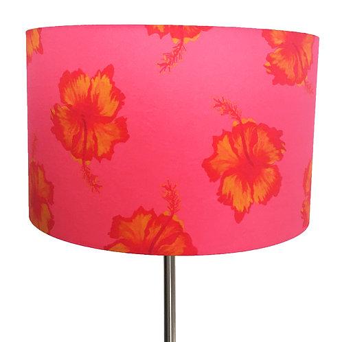 Fluers Exotiques d'Hibiscus Lampshade