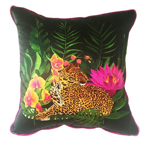 Fleurs Exotiques no.1 de Cerise Cushion