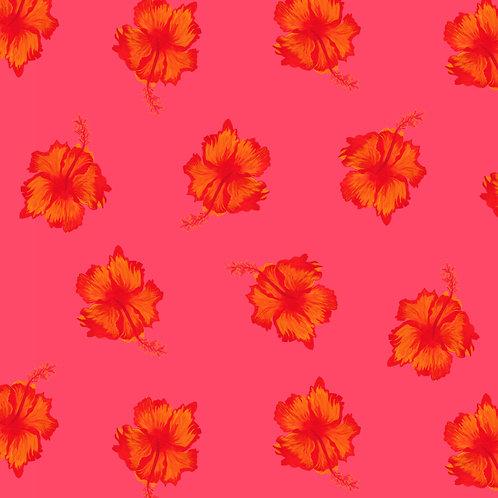 Fleurs Exotique d'Hibiscus Wallpaper