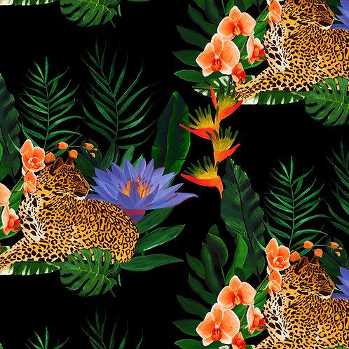 Fleurs Exotiques no.1 Wallpaper