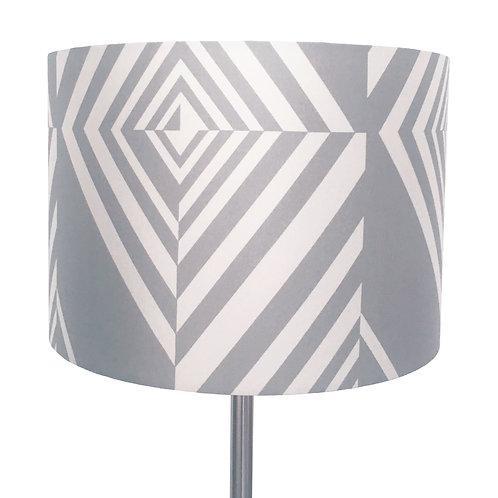 Geometric Diamond Stripe Lampshade