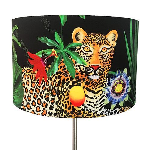 Fleurs de La Soir, Palm Leopard Lampshade