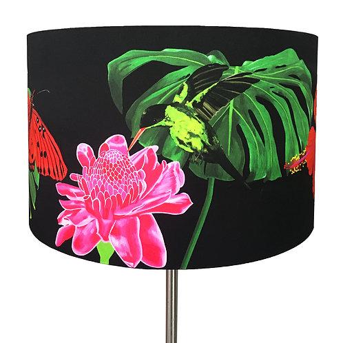 Fleurs de La Nuit, Green Hummingbird Lampshade