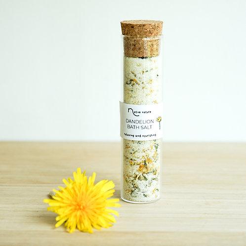 Dandelion bath salt