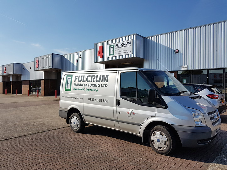 About Us - Fulcrum Manufacturing Ltd Van