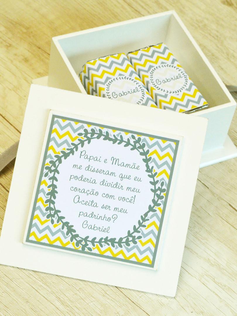 Caixa Mini-Elegance Quadrada com 8 Barrinhas Belga