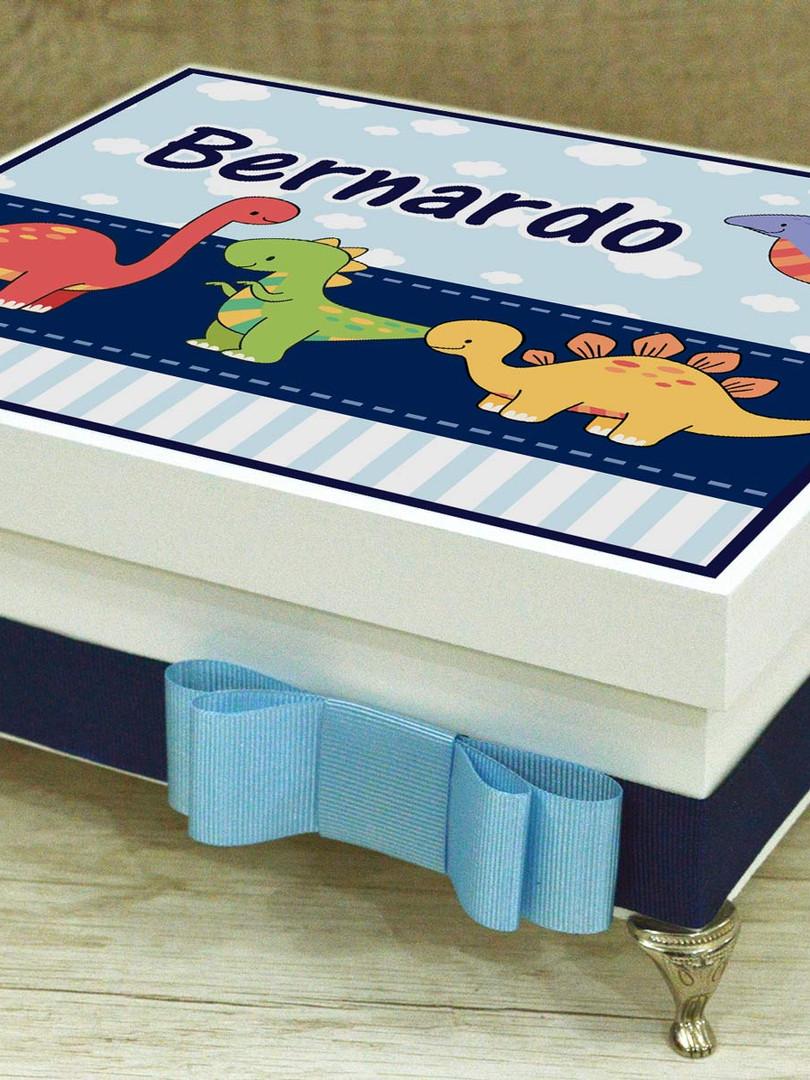 """Caixa Luxo """"Dinossauros"""""""