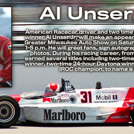 Two-time Indianapolis 500 Winner Al Unser Jr Set To Appear At The 2021Greater Milwaukee Auto-Show!