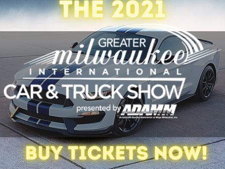 2021 Greater Milwaukee International Car & Truck Show Confirmed