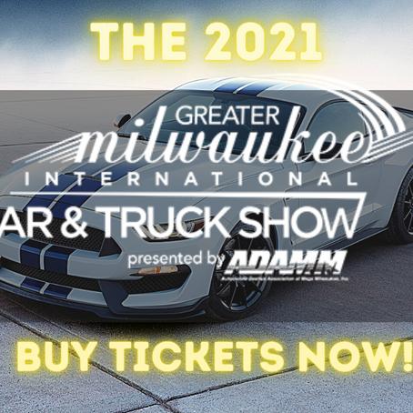 2021 Greater Milwaukee International Car & Truck Show Confirmed