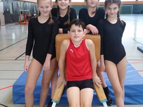 Erste Wettkampferfahrungen für Turn AG der Gesamtschule Gedern