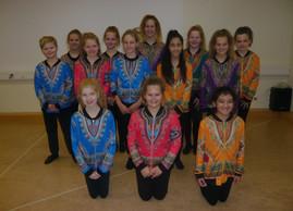 Auftritt am Tag der offenen Tür – Tanzsport der Klasse 5 und 6  der Gesamtschule Gedern   - Tanz Afr