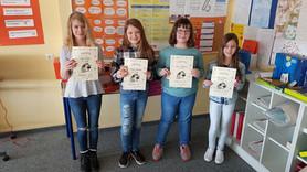 Leseköniginnen der Klasse 5aG