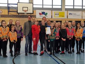 """Toller Erfolg für die Tanzsportgruppen der Gesamtschule Gedern – Prädikat """"Tanzsportbetonte Schule"""""""