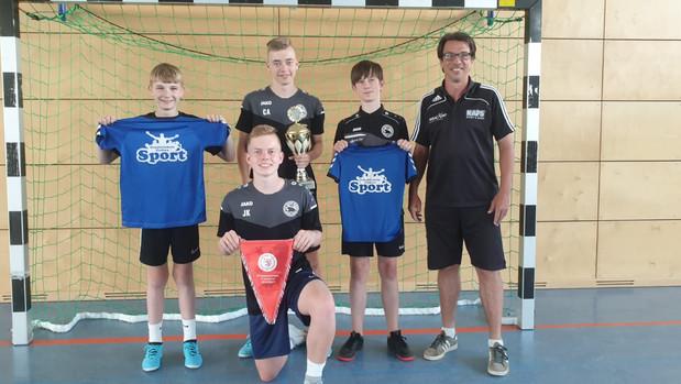 Kooperation der Sporttalentförderung Fußball an der GSG und Vereinstraining führte zum Erfolg –