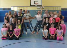 Salsa Workshop für die 3 Tanzsportgruppen an der GSG