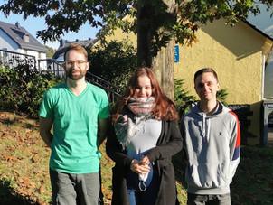 Praktikanten der Justus - Liebig - Universität Gießen sammeln erste Unterrichtserfahrungen
