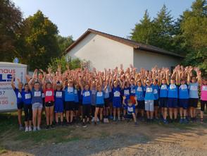 Erfolgreiche Teilnahme am Oberhessen Challenge Lauf in Nidda am 5. September 2018  - 79 Schüler und