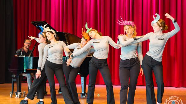 Grundstein für den Tanzsport wurde in der Gesamtschule Gedern gelegt - eine Forsetzung ...