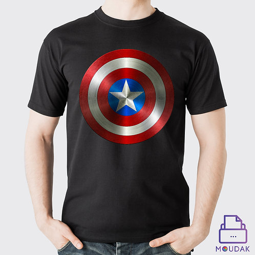 Captain America Shield Tshirt