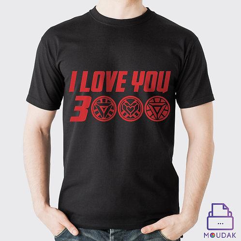 I love you 3000 Tshirt D:2