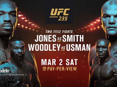 UFC 235: Does The Glass Slipper Fit?