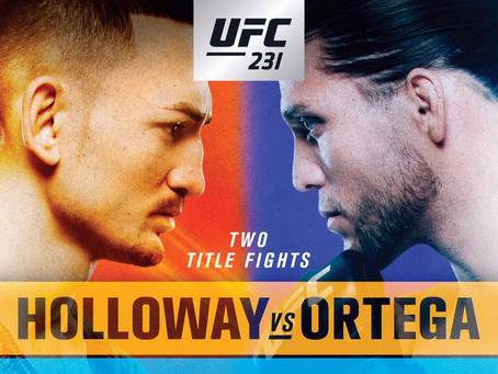 UFC 231: Let The Beautiful Violence Commence