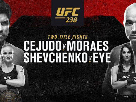 UFC 238: Lay Hold of the Empty Throne