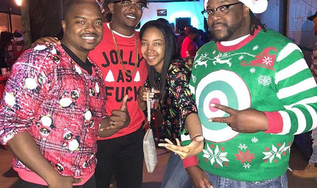 The crew! Ugly Sweater Party at Ugly's.jpg