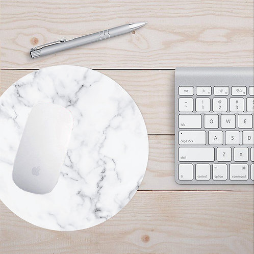 Antibacterial Marble Mouse Pad