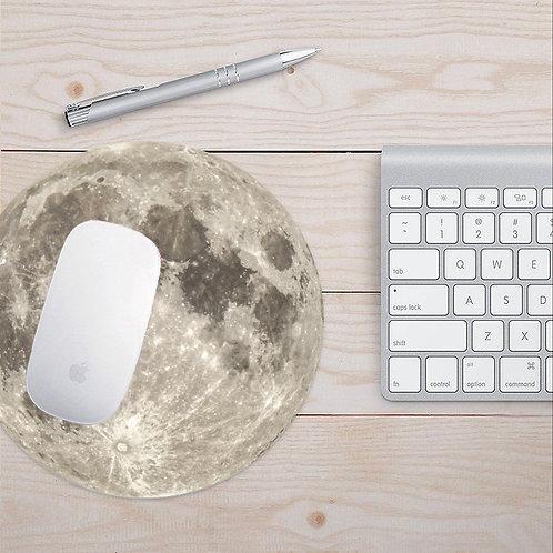 Antibacterial Moon Mouse Pad