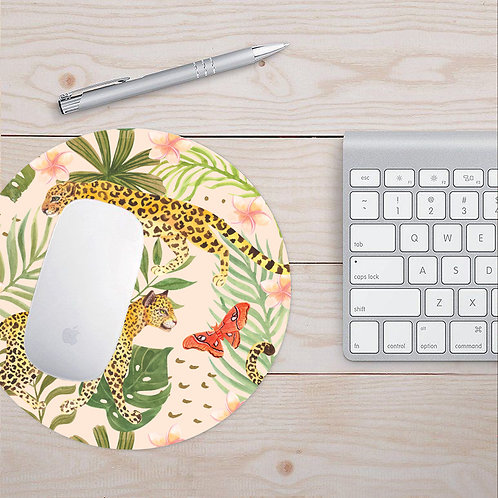 Antibacterial Leopard Mouse Pad