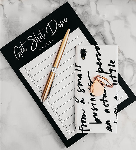 Get Sh*t Done - A5 Notepad