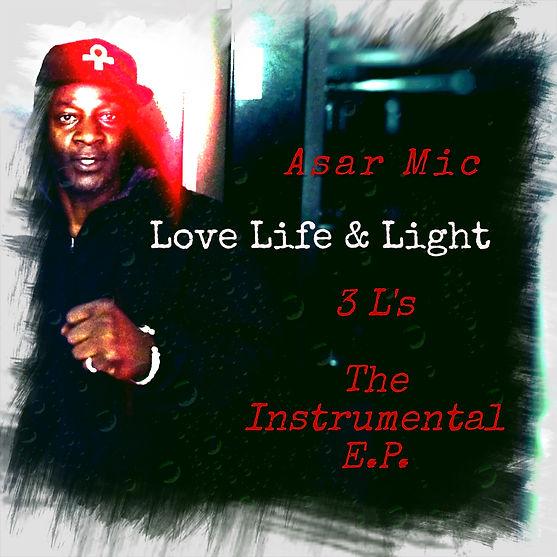 Asar Mic - 3Ls Instrumental EP album