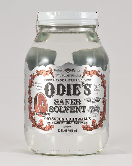 Odie's Safer Solvent – 32 oz. jar