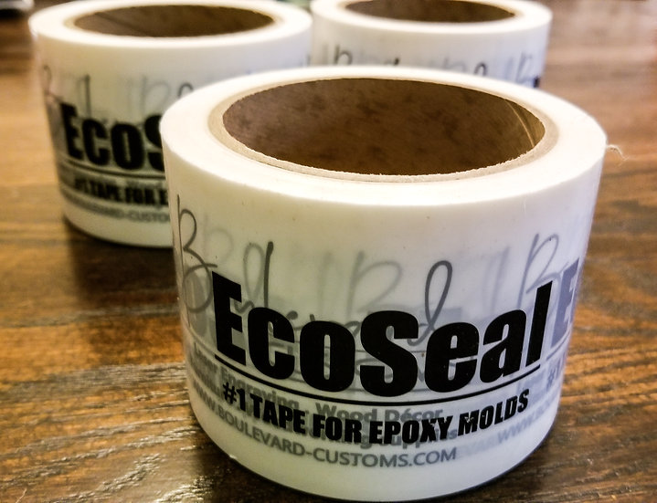 """EcoSeal Mold Release Tape - Epoxy Mold Release 3"""" x 55yrd."""