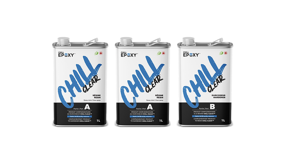 Chill Epoxy - Chill Clear Kits