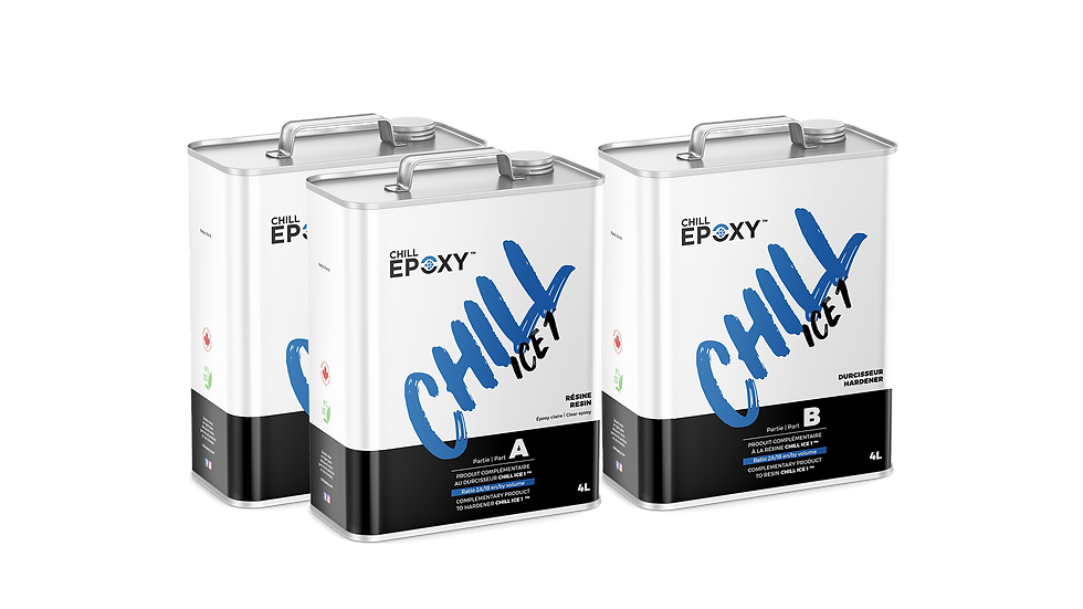Chill Epoxy - Chill Ice 1 Kits
