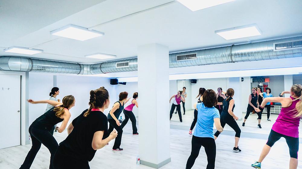Clase de Zumba Fitness Madrid