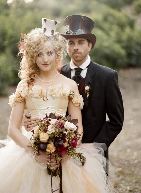 стимпанк свадьба. школа невест