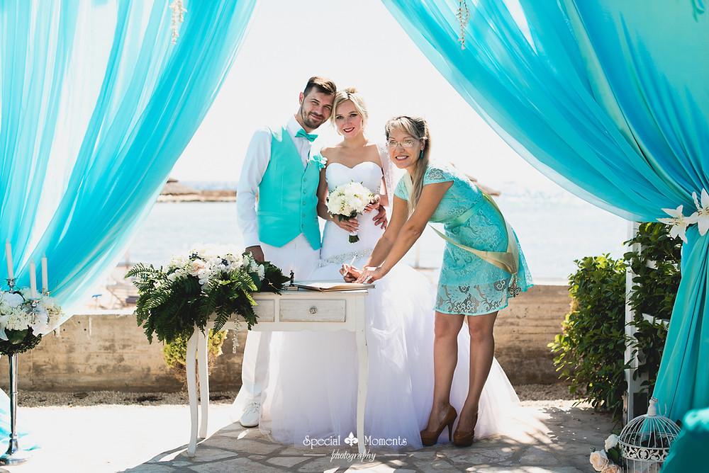 Официальная регистрация брака в Айа Напе
